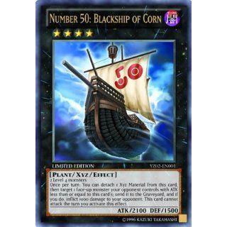 Yu Gi Oh! Zexal Number 50: Blackship of Corn YZ02 EN001