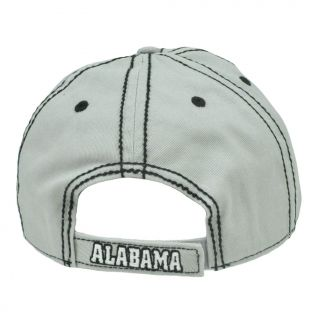 Hat Cap Platinum Clean Up Adjustable Alabama Crimson Tide