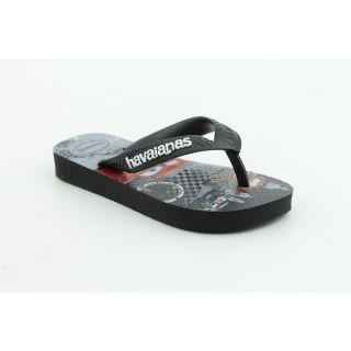 Havaianas Kids Cars Toddler Boys Size 3 Black Synthetic Flip Flops
