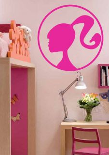 barbie girl kid room wall art vinyl decal sticker more