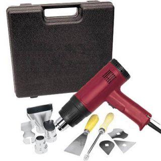 Heat Gun Kit 10 Pcs 1500 Watt Dual Temperature 572°F 1112°F Hot Air