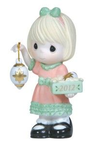 Precious Moments Dated Figurine Light Your Heart with Christmas Joy