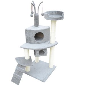 New Cat Scratch Tree 47 Cando Post Cat House Scratcher Bed Toys Pet