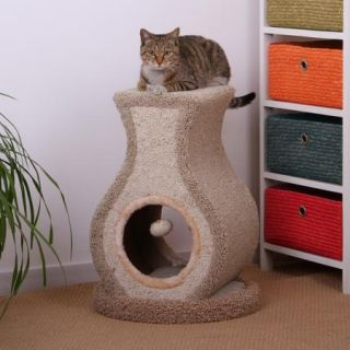 New 23 cat tree post furniture condo house, scratcher bed play toy