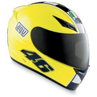 AGV K3 Series Full Face Motorcycle Helmet Yellow Celebr8 XXL 2XL
