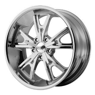 American Racing Vintage Daytona 18x9 Chrome Wheel / Rim 5x4.5 with a