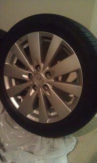 Hyundai Sonata Wheels Hankook Optimo Tires