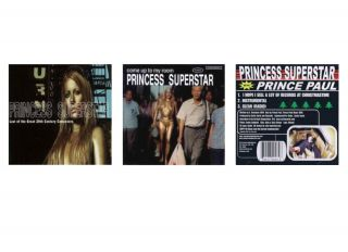 Lot of 3 Princess Superstar CDs Rap Hip Hop Dance New