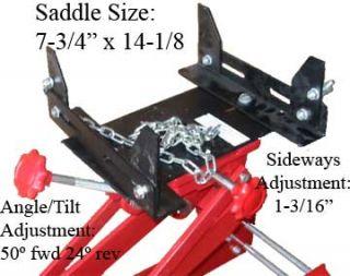 Heavy Duty 1 Ton Low Profile Lift Transmission Floor Jack 2000lbs Free