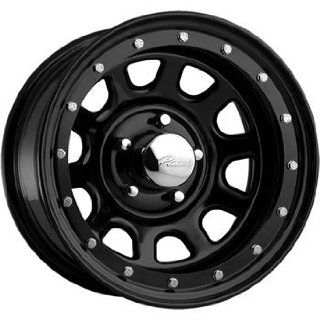 Pacer Street Lock 15x10 Black Wheel / Rim 5x4.5 with a  38mm Offset