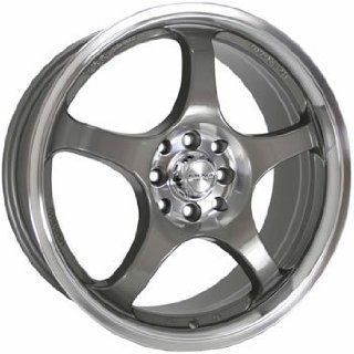 Kyowa 316 18x7.5 Gunmetal Wheel / Rim 5x100 with a 38mm Offset and a