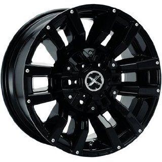 American Racing ATX Clash 17x8.5 Black Wheel / Rim 8x170 with a 6mm