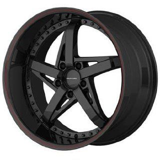 KMC KM187 18x10 Black Wheel / Rim 5x4.5 with a 48mm Offset and a 72.60