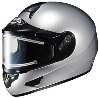 HJC CL 16 Snow Helmet with Electric Shield Silver XS