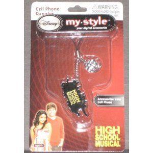 High School Musical Dangler Cell Phone Camera Charm New