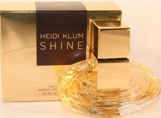 Heidi Klum Shine by Heidi Klum 1 6 oz EDT Spray for Women New in Box