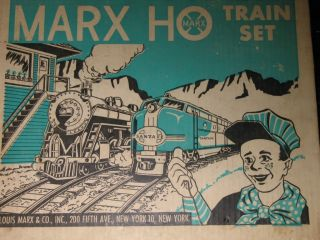 Marx Vintage HO Train Set