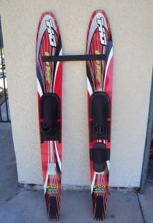 HO Easy Riders Waterskis Super Shaped Combo 59