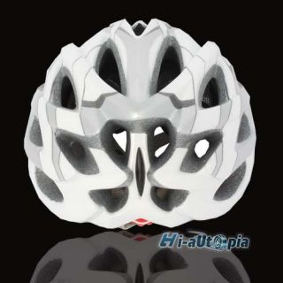 24 Holes Bike Helmet Bicycle Cycling Sports Road With Insect Nets Hoar