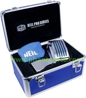 Heil Sound The Fin Chrome Retro Art Deco Elvis 50s Style Blue LED