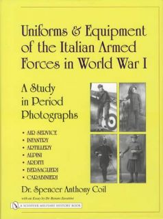WW1 Italian Army Military Uniforms Equipment Collectors Reference w