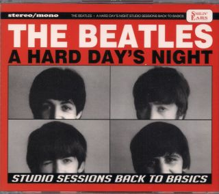 Beatles 4 CD Import Set A Hard Days Night Studio Sessions Back to