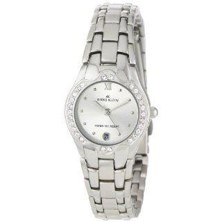Anne Klein Womens 10 6927SVSV Swarovski Crystal Accented Silver Tone