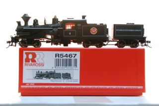 R5467 Weyerhaeuser Logging Railroad 3 truck Heisler steam locomotive