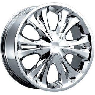 Platinum Xcess 16x7 Chrome Wheel / Rim 5x4.25 & 5x4.5 with a 40mm