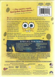 The Spongebob Squarepants Movie Children Family New DVD 097363420941