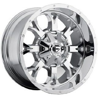Fuel Krank 18x9 Chrome Wheel / Rim 5x5 & 5x5.5 with a 1mm Offset and a