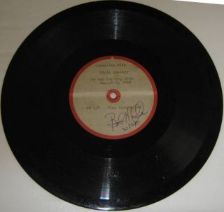 Presley Interview by Bob Hoffer WTSP St Pete FL 10 Acetate