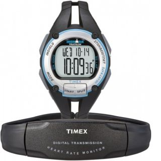 Timex Ironman Road Trainer Heart Rate Monitor Watch 100 Meter WR