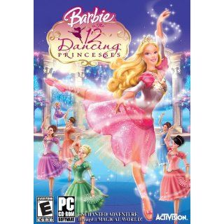 Barbie 12 Dancing Princesses Video Games