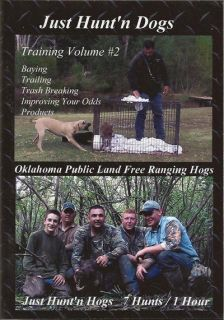just hunt n dogs ii hog wild boar bay dog training hunting dvd