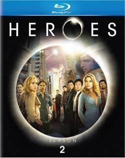 Heroes The Complete Second Season 2 (Blu ray Disc, 2008, 4 Disc Set)