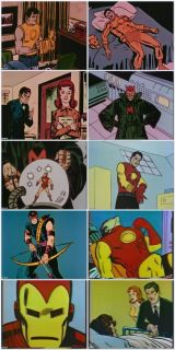 MARVEL SUPER HEROES 1966 Animated Series COMPLETE Vol 1 5 10 DVD SET