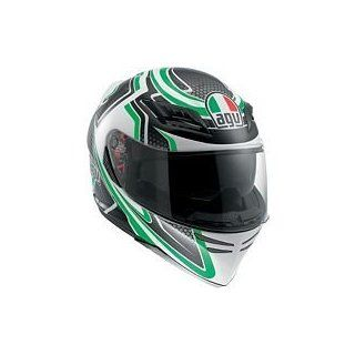 AGV Horizon Helmet   Racer (MEDIUM) (GREEN) :  : Automotive