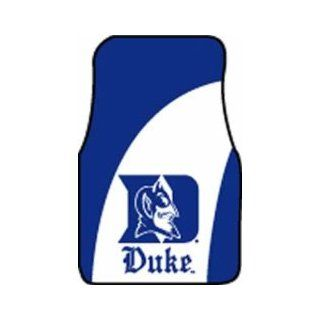 Duke Blue Devils 18in x 27in Two Piece Car Mat Set: Sports