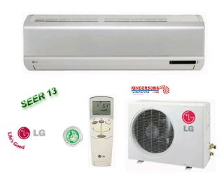Mini Split Air Conditioner SEER 13 Cool Heat Standard Unit