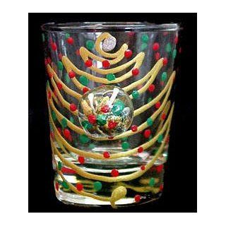 Christmas Trees Design   Hand Painted   Collectible Shot