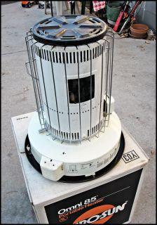 Kero Sun Omni 85 Portable Kerosene Heater 13 100 BTUs w Original Box