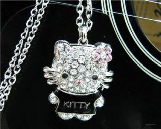hello kitty charm crystal jewelry necklace n5 search
