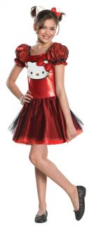 Hello Kitty Red Sequin Dress Costume Child *New*