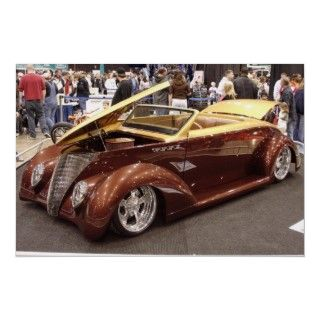 Beautiful custom 1937 Ford roadster owned by Nick Terzich, name The