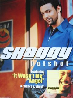Hotshot U s Promo Poster Reggae Dancehall Hip Hop Music