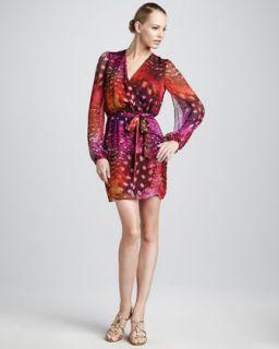Erin Fetherston Printed Chiffon Dress