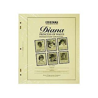 Diana Princess of Wales Postage Stamp Album Part 1