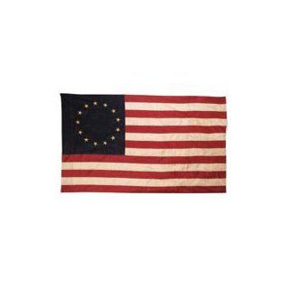 Primitive American 13 Star Betsy Ross Flag 3 ft x 5 ft