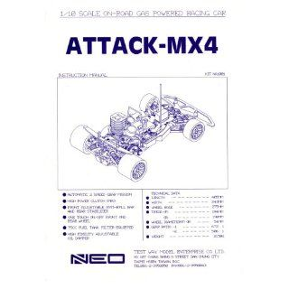 NEO ATTACK MX4 1/10 gas car instruction manual NEO Books